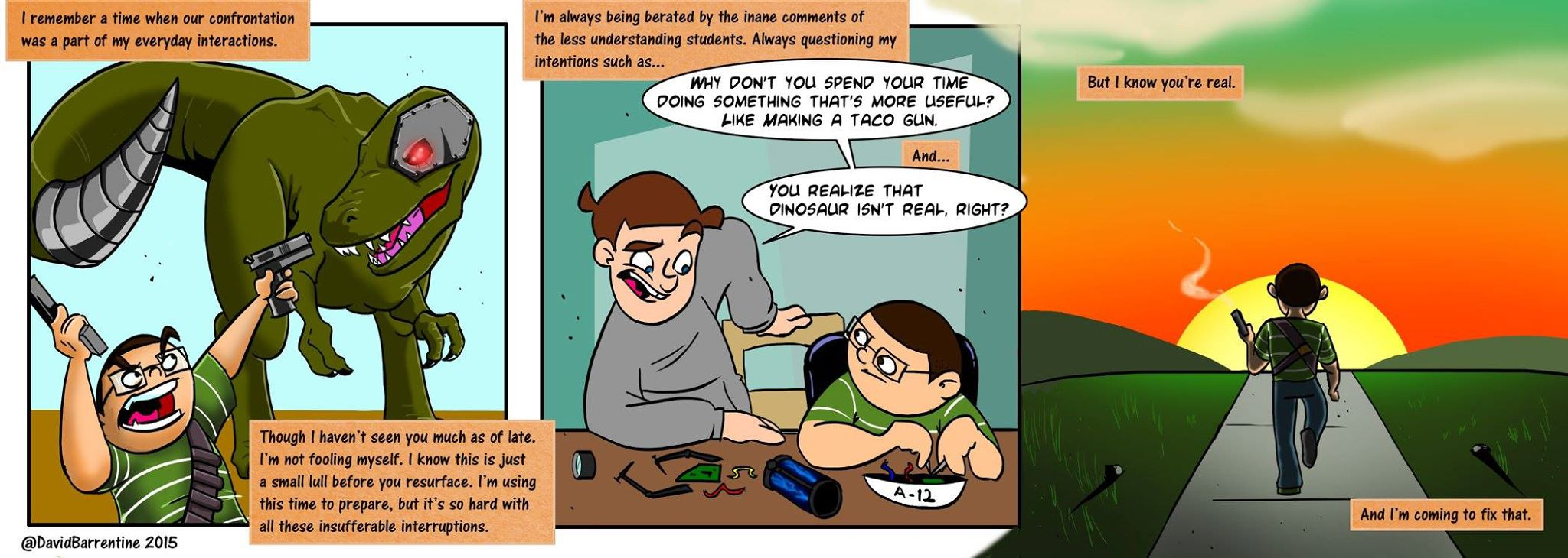 Guest Comic by David Barrentine