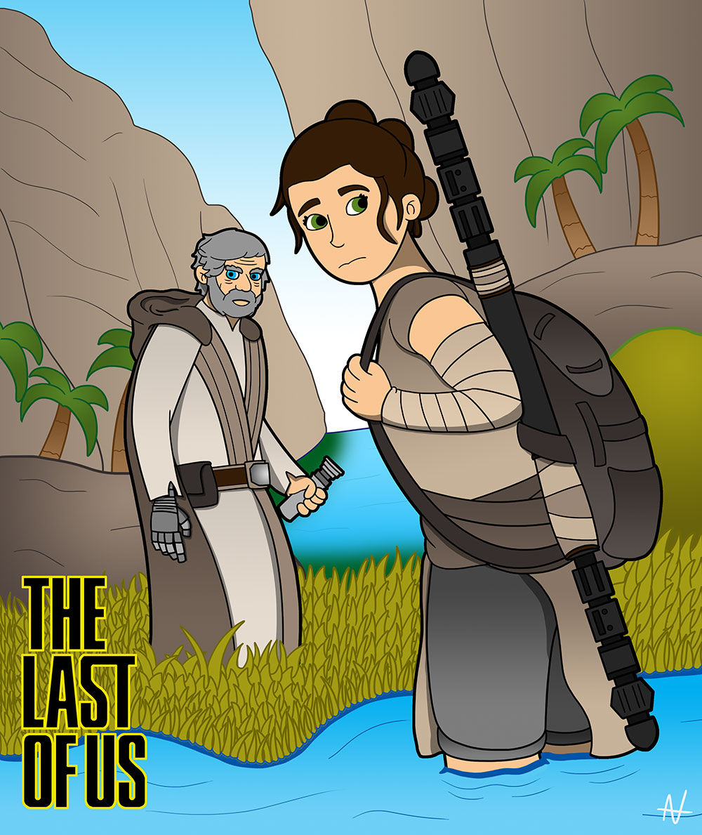A lightsaber in the Last of Us actually would have been incredibly useful.