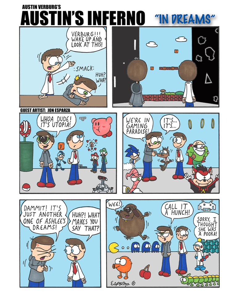 I like how this comic is retro-gaming themed. Speaking of which, if you haven't seen Wreck-It Ralph yet, get the hell off the internet and go watch it. Right now.