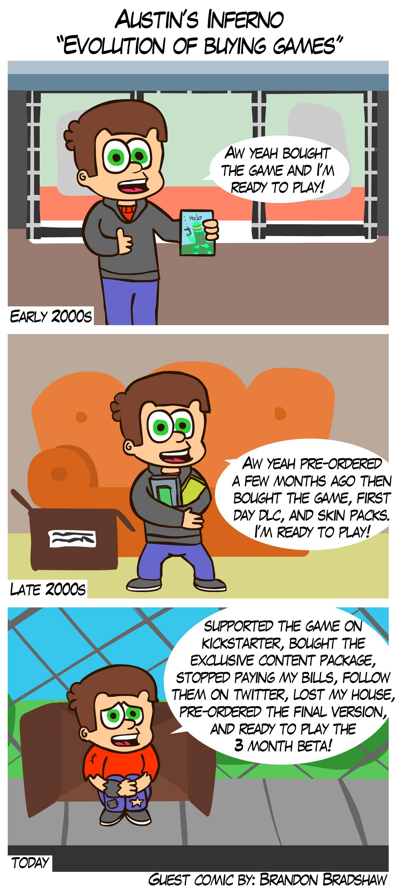 Guest Comic by Brandon Bradshaw