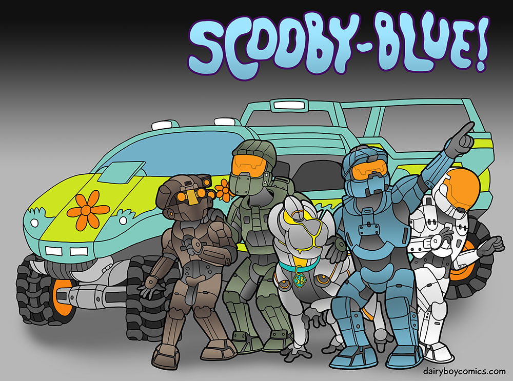 And Scooby-Blue if you come through you're gonna have yourself a REQ pack.